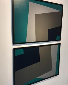 Arqueiro Verde 3 ast 108x73 cm e Arqueiro Verde 4 ast 108x73 cm por Fabiana Langaro Loos