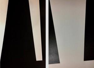 Black & White ast 120x160 cm díptico por Fabi Loos