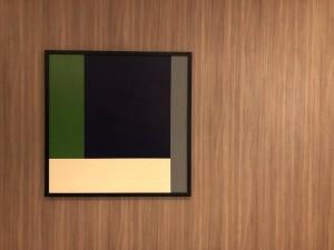 Blue Square ast 80x80 cm por Fabiana Langaro Loos