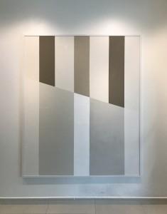 Chantilly mista sobre tela 183x153 cm