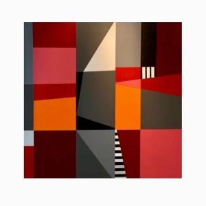 Color Block ast - 130x130 cm por Fabiana Langaro Loos