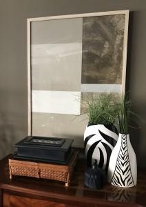Concha acrilica sobre papel 83x63cm