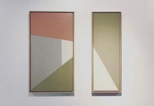 Mirror ast 78x28 cm & Reflection ast 78x28 cm