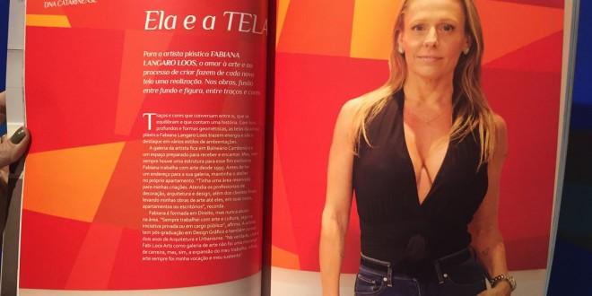 Fabi Loos na Revista NCD CASA