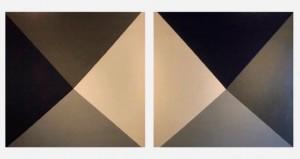 Night Breeze ast díptico - 110x220 cm por Fabiana Langaro Loos