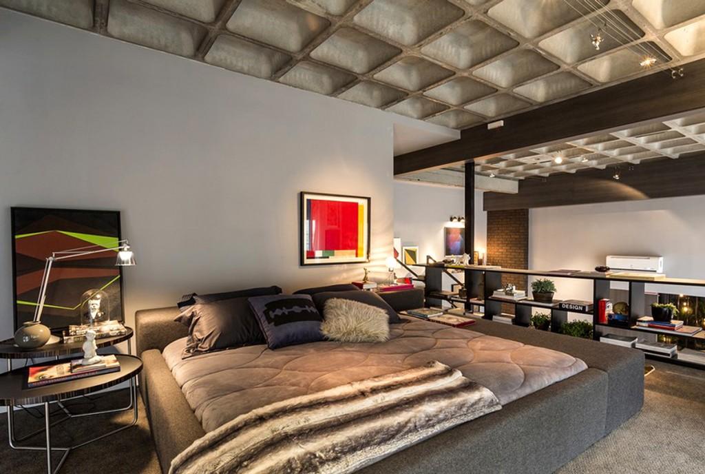 Obra Perdi Meu sapatinho na cama de um cafajeste encantado de Fabiana Langaro Loos em asmbiente do CASAdesign Interiores na Casa Cor SC 2014