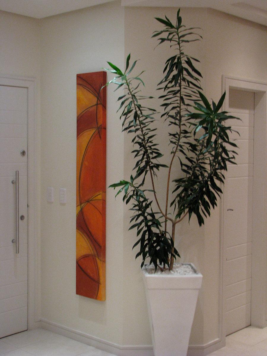 Obra de Fabiana Langaro Loos em ambiente da arquiteta Shirley Archer