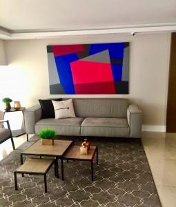 Paleta de Cores 115x190 cm ambiente de arquiteta Tamara Gomides