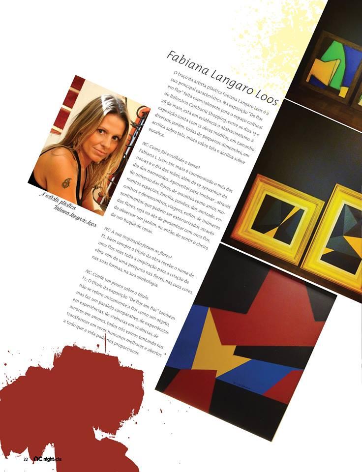 Revista Night e Cia entrevista com Fabi Loos