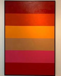Summertime mista sobre tela - 183x153 cm por Fabiana Langaro Loos