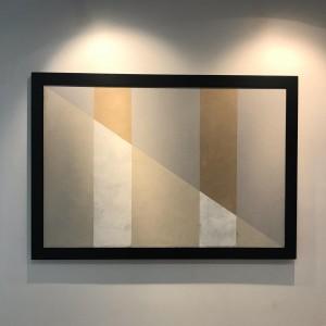 Yin e Yang mista sobre tela 113x163 cm por Fabiana Langaro Loos