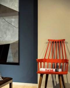 ambientação com Obra da artista plástica Fabiana Langaro Loos na loja 4elementos
