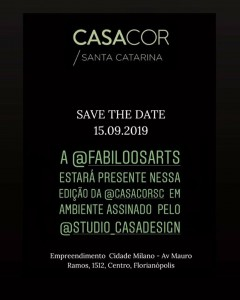 casa cor sc 2019 save the date