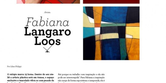 Revista Estilo ND – Entrevista
