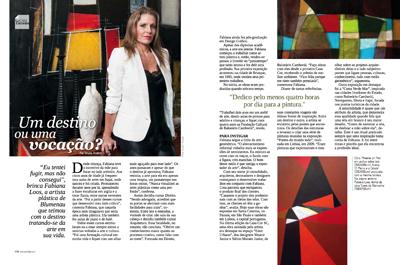 Fabi Loos na Revista Sua Casa agosto 2013